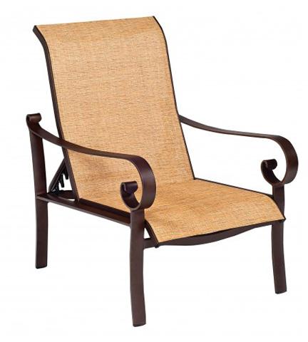 Woodard Company - Belden Sling Adjustable Lounge Chair - 62H435