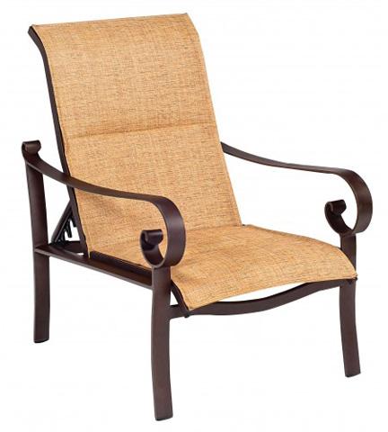 Woodard Company - Belden Padded Sling Adjustable Lounge Chair - 62H535