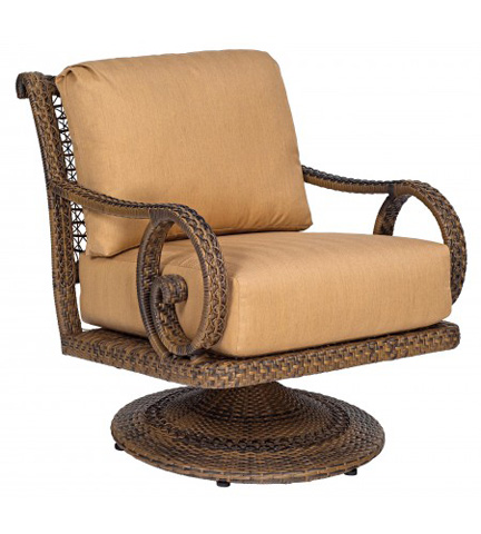 Woodard Company - South Shore Swivel Rocking Lounge Chair - 640077V