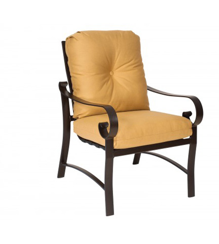 Woodard Company - Belden Cushion Dining Arm Chair - 690401M