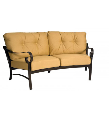 Woodard Company - Belden Cushion Crescent Loveseat - 690463M