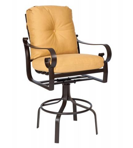 Woodard Company - Belden Cushion Swivel Barstool - 690468M