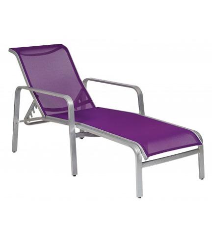 Woodard Company - Landings Sling Adjustable Chaise Lounge - 6G0470