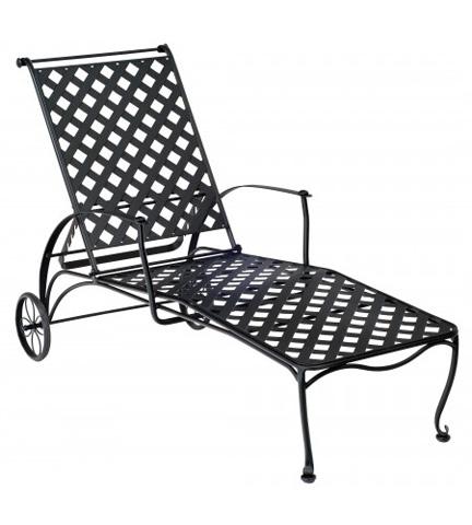 Woodard Company - Maddox Adjustable Chaise Lounge - 7F0070
