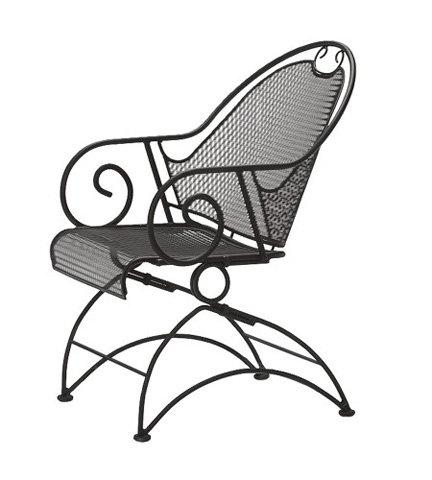 Woodard Company - Cantebury Coil Spring Barrel Chair - 7L0088
