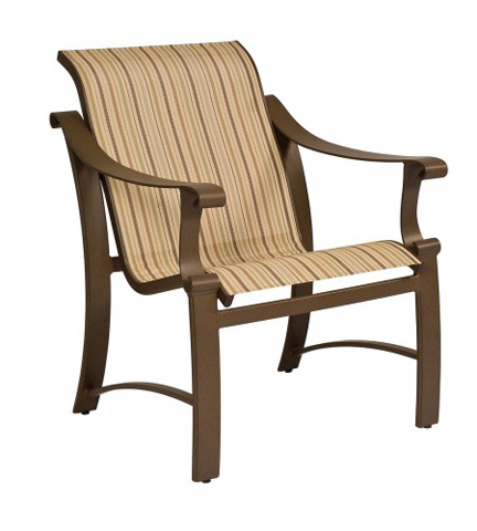 Woodard Company - Bungalow Sling Dining Arm Chair - 830401