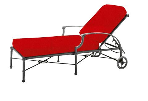 Woodard Company - Delphi Adjustable Chaise Lounge - 850470