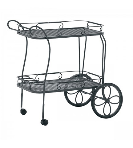 Woodard Company - Tea Cart with Removable Serving Tray - 880080