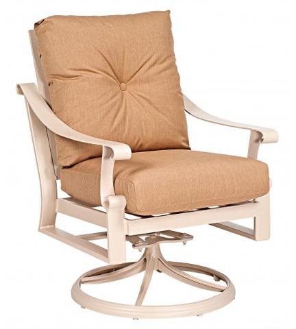 Woodard Company - Bungalow Cushion Stationary Rocking Lounge Chair - 8Q0477