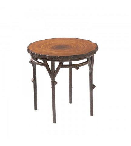 Woodard Company - Chatham Run Heartwood End Table with Faux Top - S525201