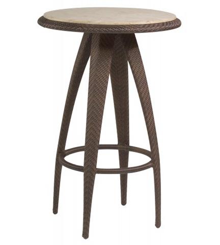 Woodard Company - Bali Bar Table with Stone Top - S533736