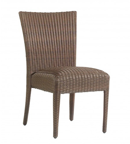 Woodard Company - All-Weather Padded Seat Dining Side Chair - S593811