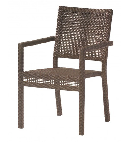 Image of All-Weather Miami Dining Arm Chair