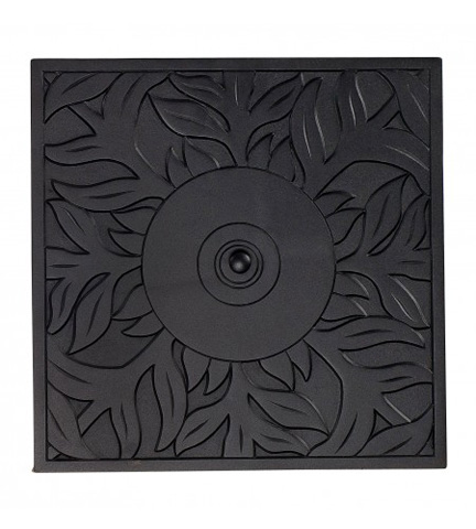 Woodard Company - Empire Square Replacement Fire Pit Burner Cover - 03312