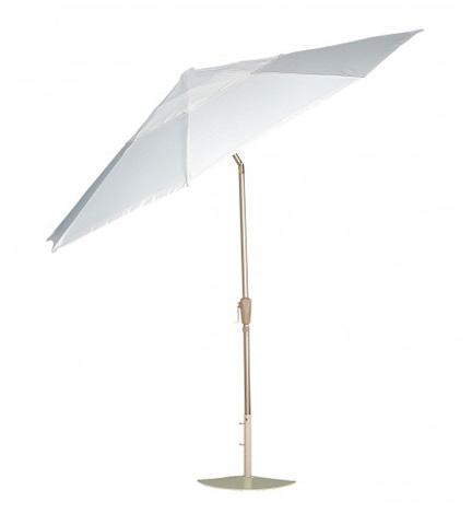 Woodard Company - Hammered Pewter Aluminum Umbrella - 9821RW