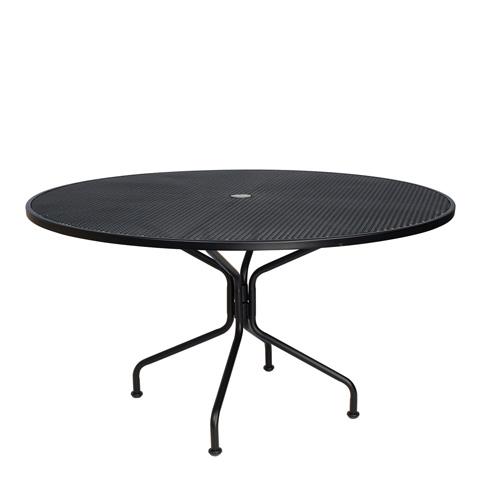 Woodard Company - Premium Mesh Round Umbrella Dining Table - 190227