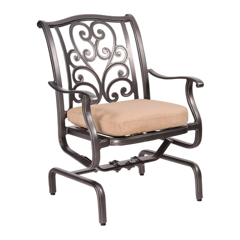 Woodard Company - New Orleans Spring Rocker Dining Arm Chair - 3W0405