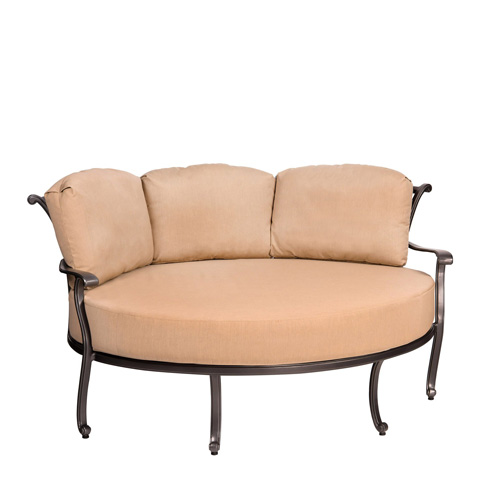 Woodard Company - New Orleans Crescent Cuddle Chair - 3W0499