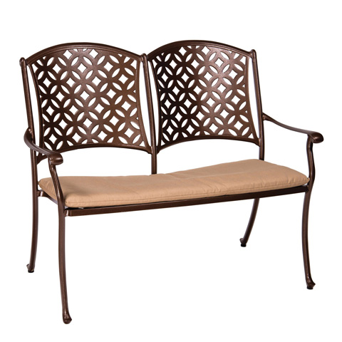 Woodard Company - Casa Bench - 3Y0404ST