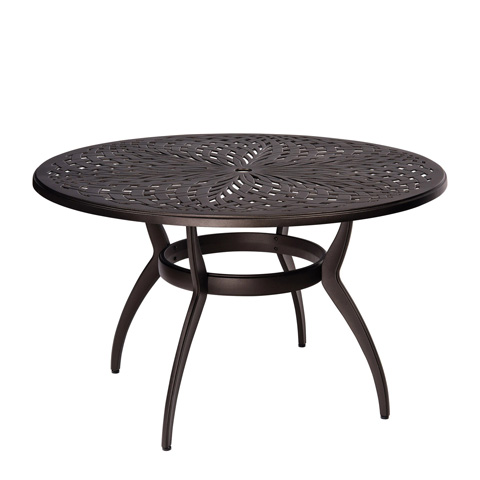 Woodard Company - Apollo Round Umbrella Dining Table - 7U48BT