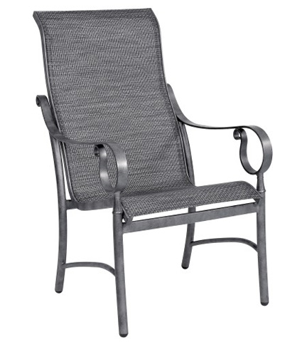 Woodard Company - Ridgecrest Sling High-Back Dining Arm Chair - 80M425
