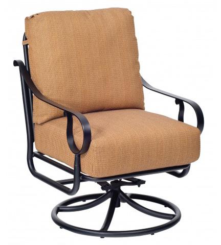 Woodard Company - Ridgecrest Cushion Swivel Rocking Lounge Chair - 8PM477