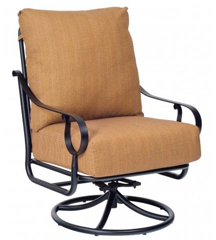 Woodard Company - Ridgecrest Cushion Extra Large Swivel Rocker - 8PM677