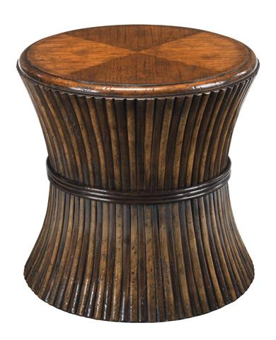 Woodbridge Furniture Company - Rattan Drum Table - 1142-22