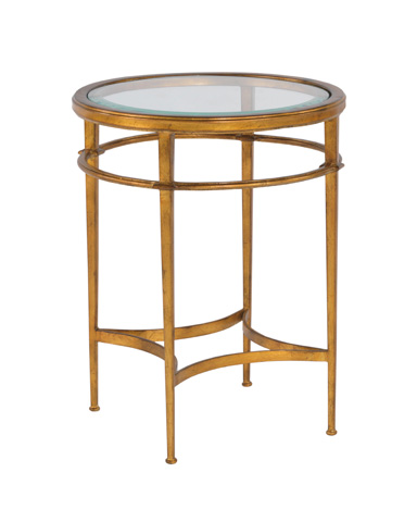 Woodbridge Furniture Company - Madeleine Round Side Table - 1157-50