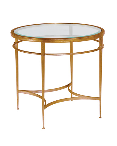 Woodbridge Furniture Company - Madeleine Round Side Table - 1158-50