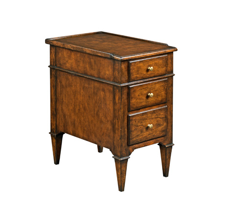 Woodbridge Furniture Company - Marseille Chairside Chest - 1181-10
