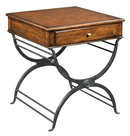 Woodbridge Furniture Company - Campaign Side Table - 1182-10