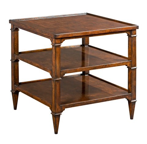 Woodbridge Furniture Company - Marseille Square Side Table - 1203-10