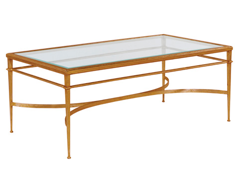Woodbridge Furniture Company - Madeleine Rectangular Cocktail Table - 2099-50