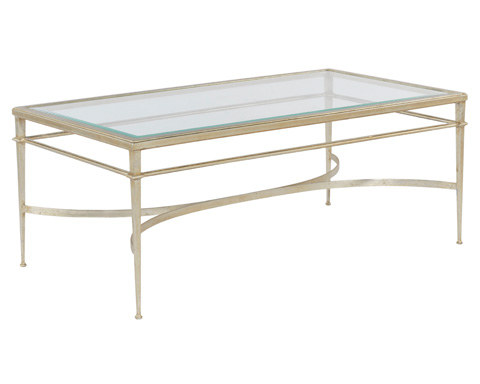 Woodbridge Furniture Company - Madeleine Rectangular Cocktail Table - 2099-51