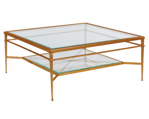 Woodbridge Furniture Company - Madeleine Square Cocktail Table - 2100-50