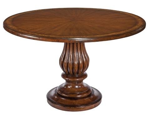 Woodbridge Furniture Company - Pedestal Dining Table - 5039BT46-11NHP