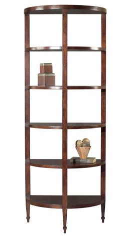 Woodbridge Furniture Company - Demi Lune Book Shelf - 6017-03