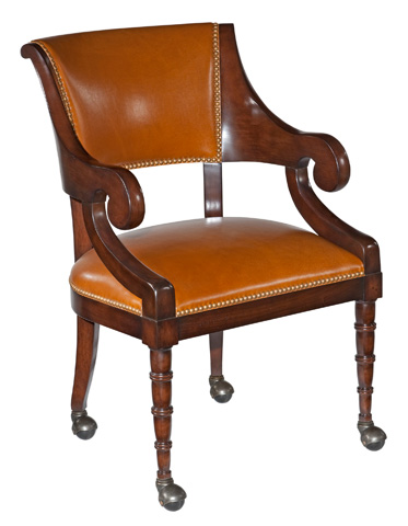 Woodbridge Furniture Company - Brighton Game Chair - 7128-03
