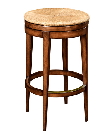 Woodbridge Furniture Company - Rush Seat Swivel Barstool - 7176-26