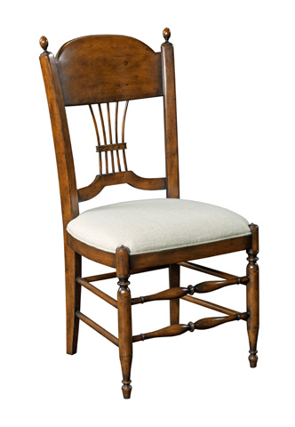 Woodbridge Furniture Company - Gathered Spindle Side Chair - 7221-10
