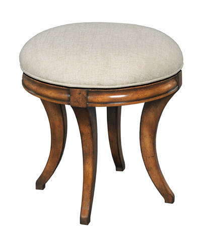 Woodbridge Furniture Company - Swivel Vanity Seat - 7236-10