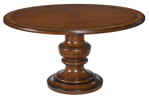 Woodbridge Furniture Company - Tuscan Pedestal Dining Table - 5035BT58-11NHP