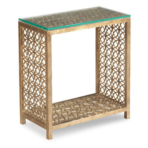 Image of Gilt Side Table