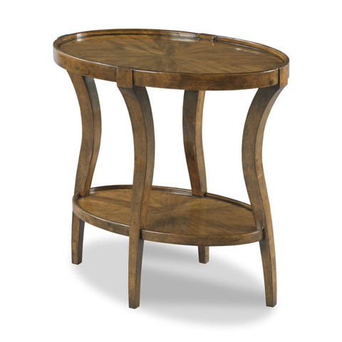Image of Linwood Oval Side Table