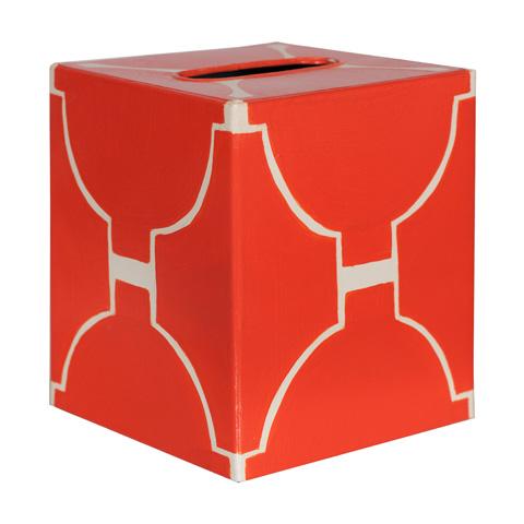 Worlds Away - Orange and Cream Kleenex Box - KBACADIAO