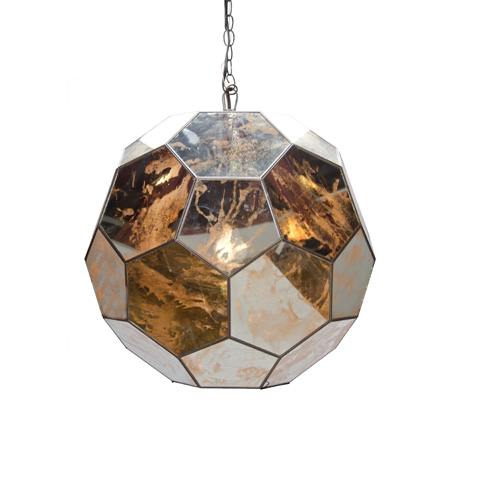 Worlds Away - Small Faceted Ball Pendant - KNOX AMS