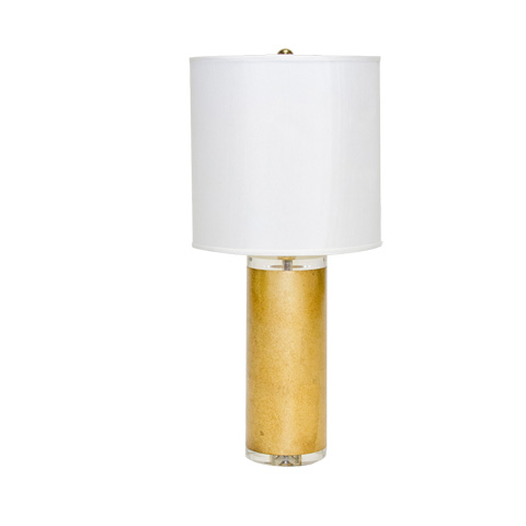 Worlds Away - Gold Leaf Lamp - NILES G