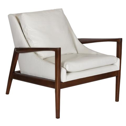 Worlds Away - Beech Wood Chair - TROY CR