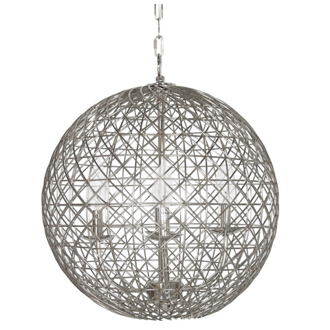Worlds Away - Small Nickel Plated Wire Ball - VERONA N18